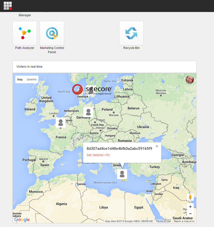 View visitors in real-time in Sitecore using SignalR and