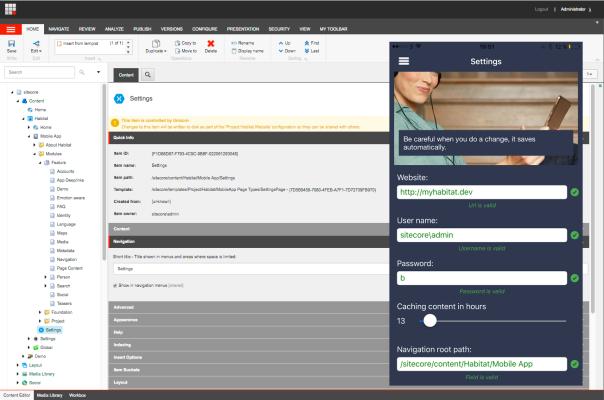 SitecoreSettingsPage